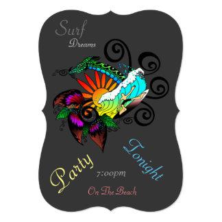 Surf Dreams 5x7 Invitation Bracket