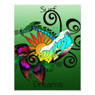 Surf Dreams Green Card
