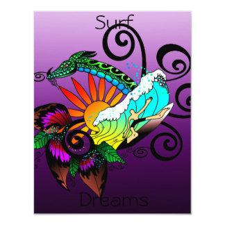 Surf Dreams Purple Card