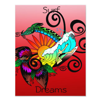 Surf Dreams Red Card