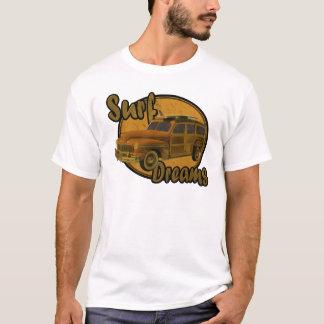 surf dreams woodie wagon brown T-Shirt