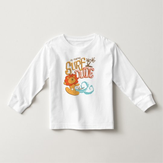 Surf Dude Baby Toddler Toddler T-shirt