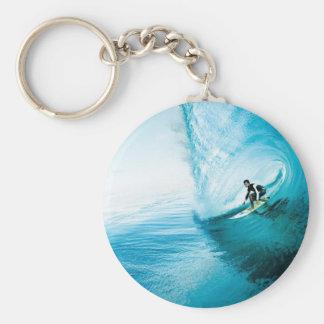 surf dude keychain