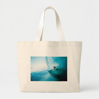 surf dude large tote bag
