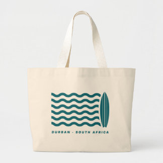 Surf Durban South Africa Jumbo Tote Bag
