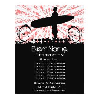 Surf Event Promotion Flyer