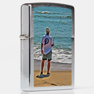 """Surf Fisher"" lighter"