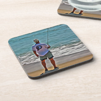 Surf Fisher - Set of 6 coasters