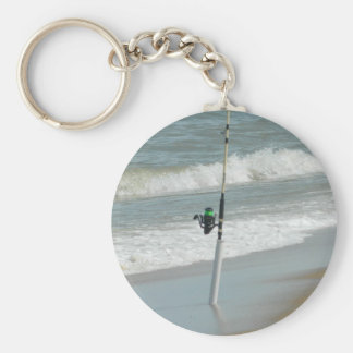 Surf Fishing Keychain