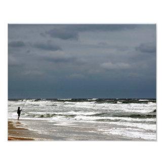 Surf Fishing Photo Art