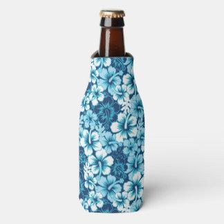 Surf Floral Hibiscus Pattern Bottle Cooler