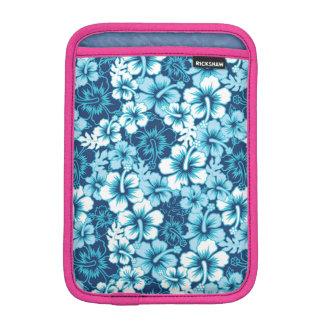 Surf Floral Hibiscus Pattern iPad Mini Sleeve