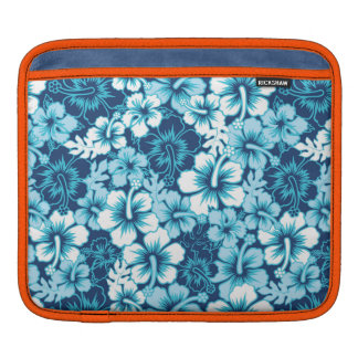 Surf Floral Hibiscus Pattern Sleeves For iPads