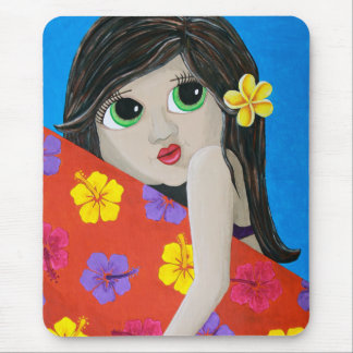Surf Flower Mouse Pad