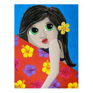 Surf Flower Postcard
