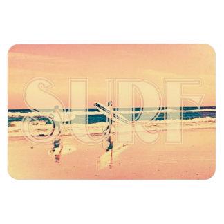Surf Girls Rectangular Photo Magnet