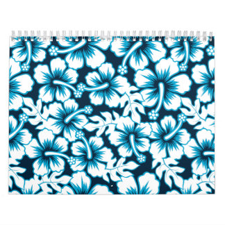 Surf graphic floral calendar