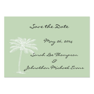 Surf Green Beach Getaway Mini Save The Date Cards