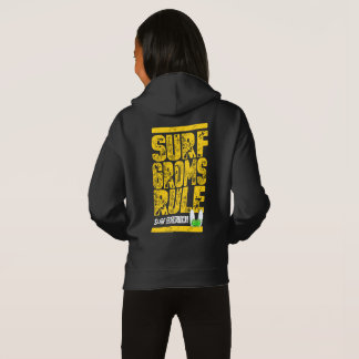 Surf Groms Rule!!! (yellow) Hoodie
