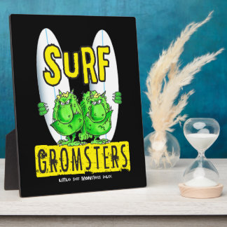 Surf Gromsters Plaque
