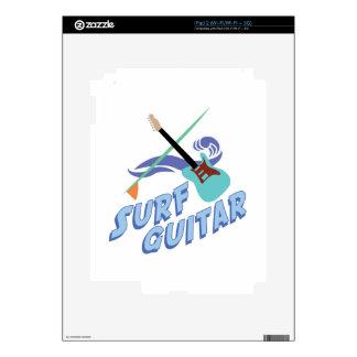 Surf Guitar iPad 2 Skins
