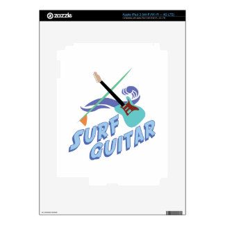 Surf Guitar iPad 3 Skin