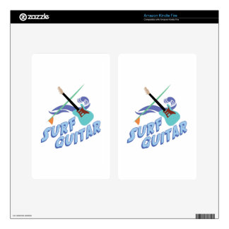 Surf Guitar Kindle Fire Skin