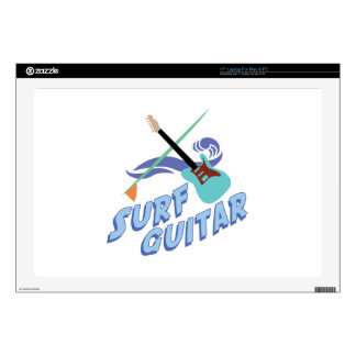 Surf Guitar Skin For Laptop