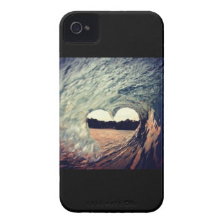 Surf Heart iPhone 4s case