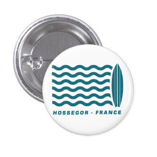 Surf Hossegor France Pinback Button