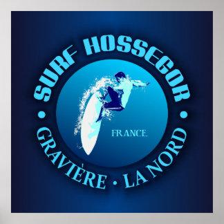 Surf Hossegor Poster