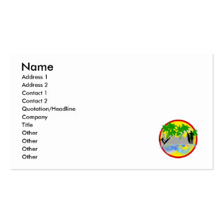 Surf in the City.png Double-Sided Standard Business Cards (Pack Of 100)