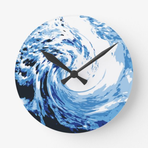 Surf in the sea round clock