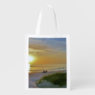 Surf in the Sunset Grocery Bag