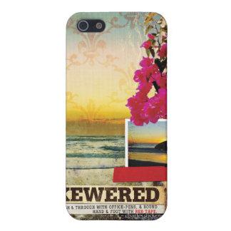 Surf Inspired Digital Art Collage Phone Case