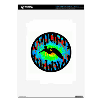 SURF IS UP SKINS FOR iPad 3
