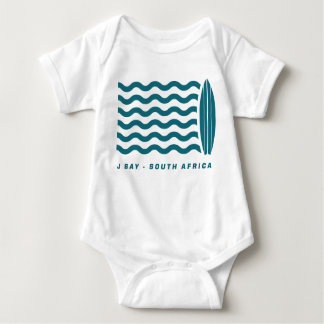 Surf Jeffreys Bay South Africa Baby Bodysuit