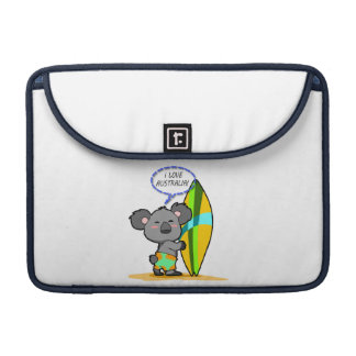 Surf Koala Bear MacBook Sleeve