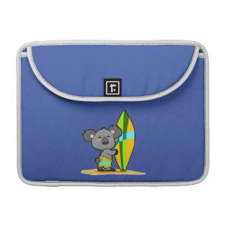 Surf Koala Bear MacBook Sleeve Sleeve For MacBooks