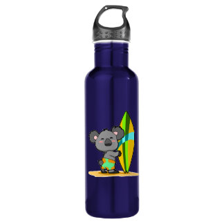 Surf Koala Bear Water Bottle