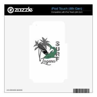 Surf - Laguna Decal For iPod Touch 4G