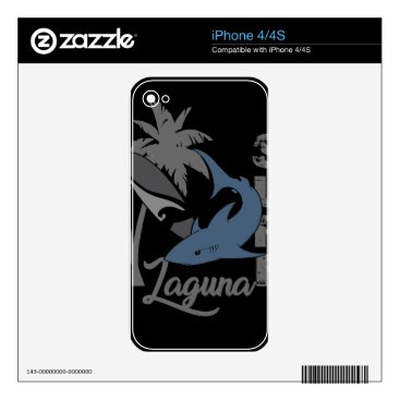 Beach Themed Surf - Laguna Decals For The iPhone 4