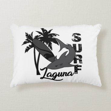 Surf - Laguna Decorative Pillow