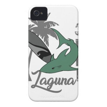 Beach Themed Surf - Laguna iPhone 4 Case