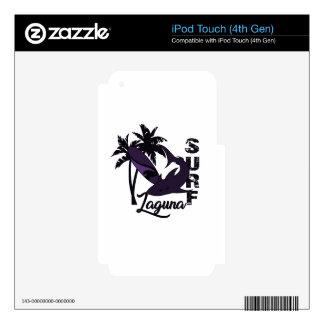 Surf - Laguna iPod Touch 4G Decal