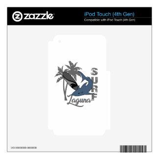 Surf - Laguna iPod Touch 4G Skins