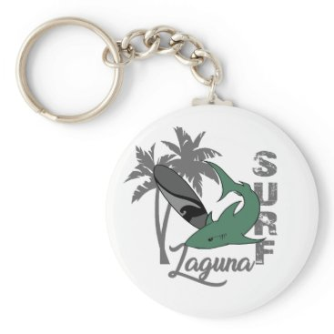 Beach Themed Surf - Laguna Keychain
