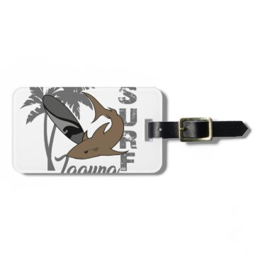 Beach Themed Surf - Laguna Luggage Tag