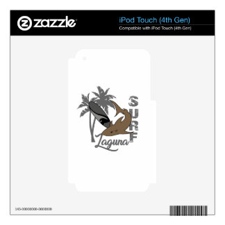 Surf - Laguna Skins For iPod Touch 4G