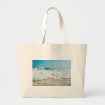 Beach Themed surf large tote bag